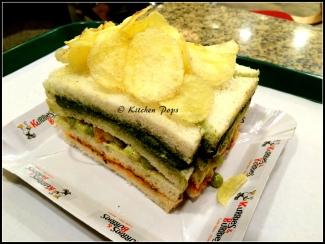 3 Layered Sandwich