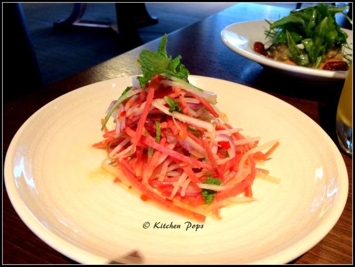 Nonya Salad - vegetables, sweet chilli sauce