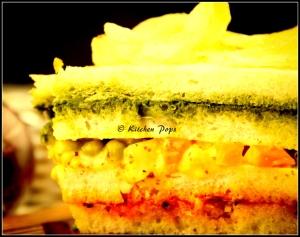 Three Layered Sandwich