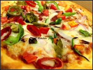 Veg Mexicana & Country style Pizza