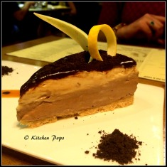 chocolate caramel cheese cake