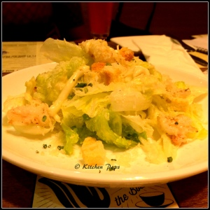 House Style Ceaser's Salad