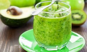 Kiwi Avocado Slush