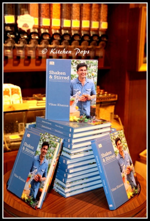 Chef Vikas Khanna launches is 20th Book Shaken & Stirred at Foodhall @ Palladium, Mumbai