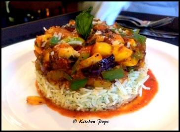 Vegetable Mousakka