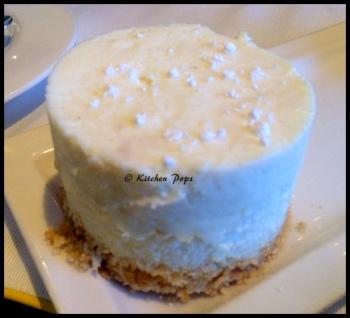 Baked New York Hazelneut Cheese Cake