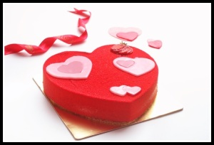 Valentine cake from L'opera Image 3